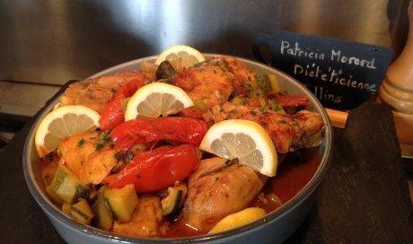 Poulet aux saveurs espagnoles de Patricia Morard