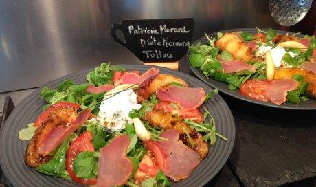 Salade melon roti et Lomo Patricia Morard Coach Minceur